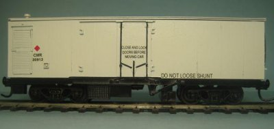 CMR Insulated Box Wagon
