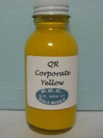 QR Corporate Yellow Paint